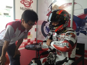Kiyonari qualifies 4th at Round 1 of the Asian Championship