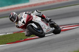 Tamada tests at Sepang
