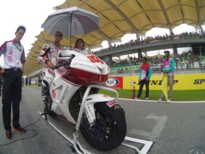 Tamada gets his first podium finish at the Asian Championship