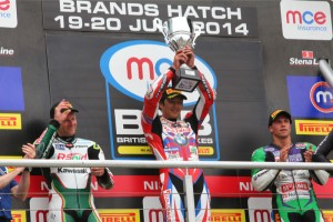 Kiyonari proves he's back with another victory at a storm-lashed Brands Hatch