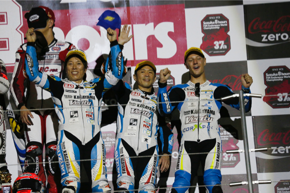 Consecutive podium won by the unity of the team